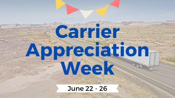 Carrier Appreciation Week
