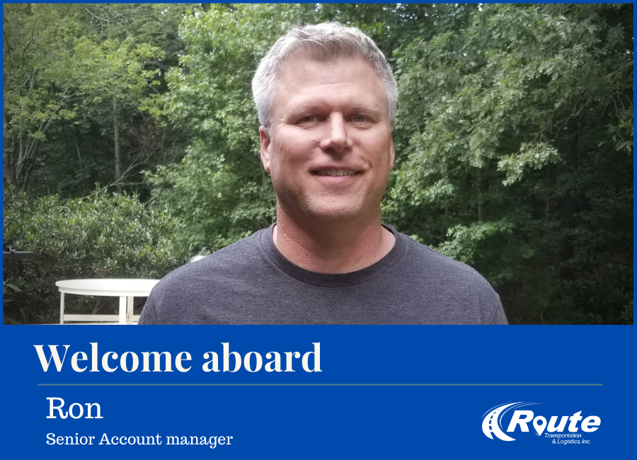 Welcome Aboard - Ron